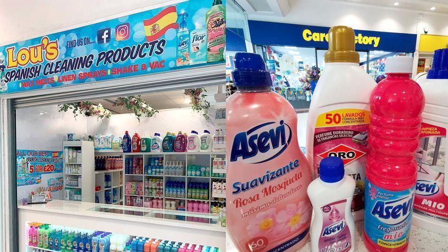 Una tenda de productes de neteja espanyols a Liverpool
