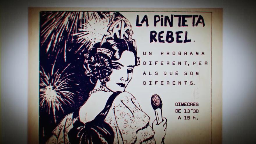 'La pinteta rebel', un programa de divulgació LGTBI pioner a Espanya