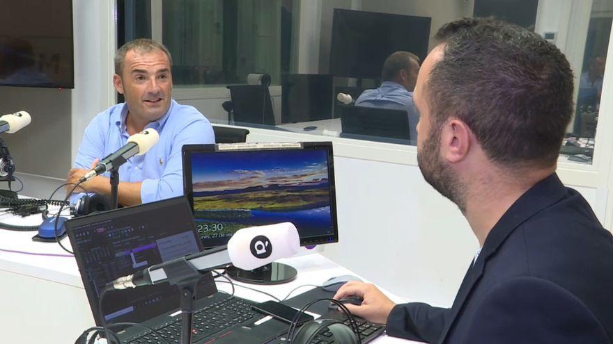 El periodista Pedro Morata en el programa 'Línia de fons'
