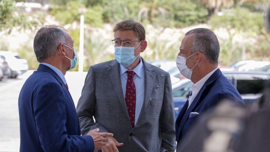 El president de la Generalitat Ximo Puig assisteix a la cloenda de la junta directiva de la Confederació Empresarial Valenciana