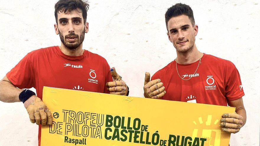 Vicent i Canari s'imposaven en el primer trofeu d'estiu de raspall