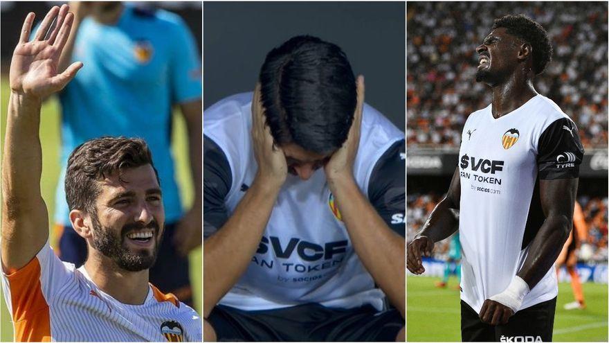 Gayà, Carles Soler i Correia es lesionen i seran baixa el pròxim partit