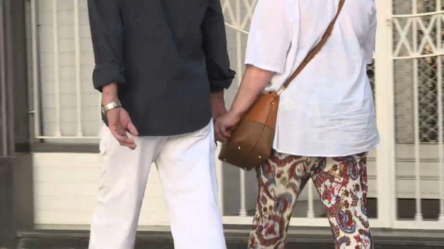 Una parella, en una imatge d'arxiu