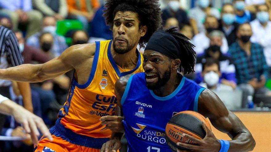 El jugador del València Basket, Louis Labeyrie, ha sigut el màxim anotador del partit