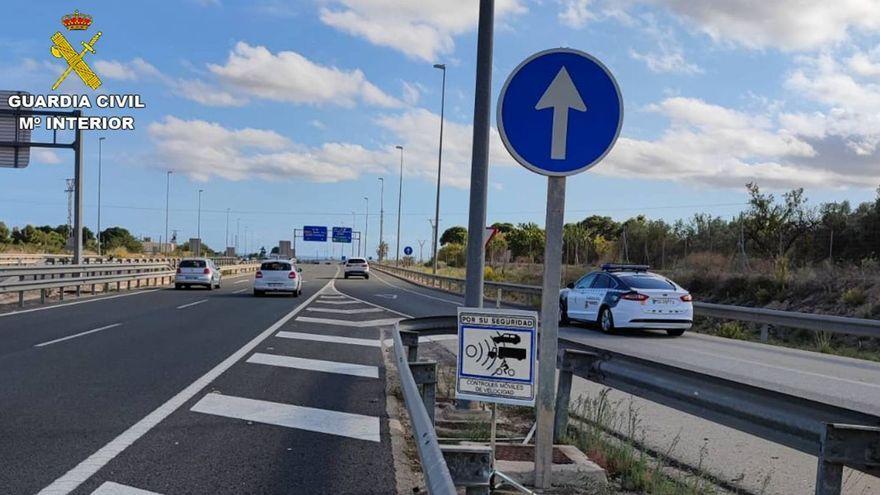 Tram a Elx on va ser interceptat el conductor sancionat