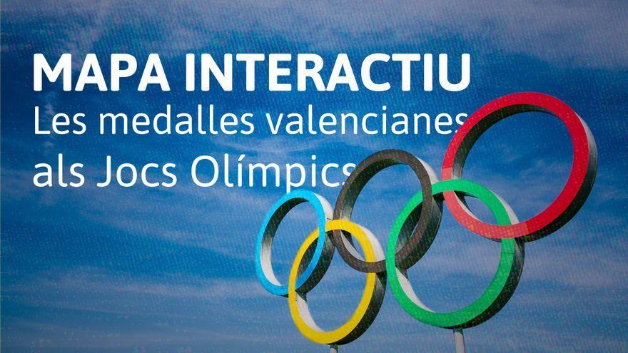Les medalles valencianes als Jocs Olímpics