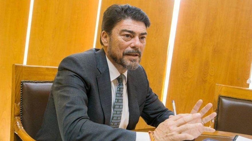 L'alcalde d'Alacant, Luis Barcala, en una imatge d'arxiu