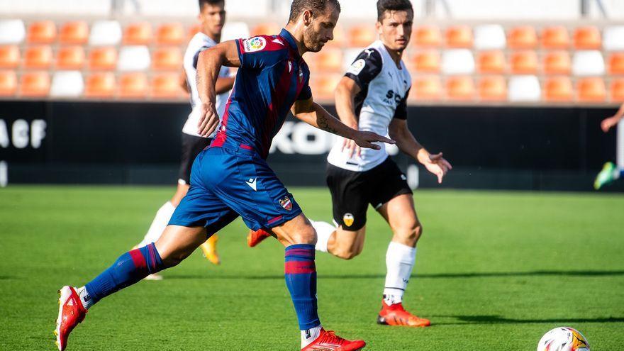 Soldado s'ha enfrontat per primera vegada al València com a jugador granota