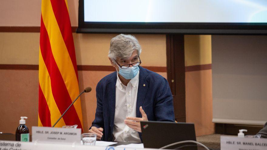El conseller de Salut de la Generalitat de Catalunya, Josep Maria Argimon, en una imatge d'arxiu