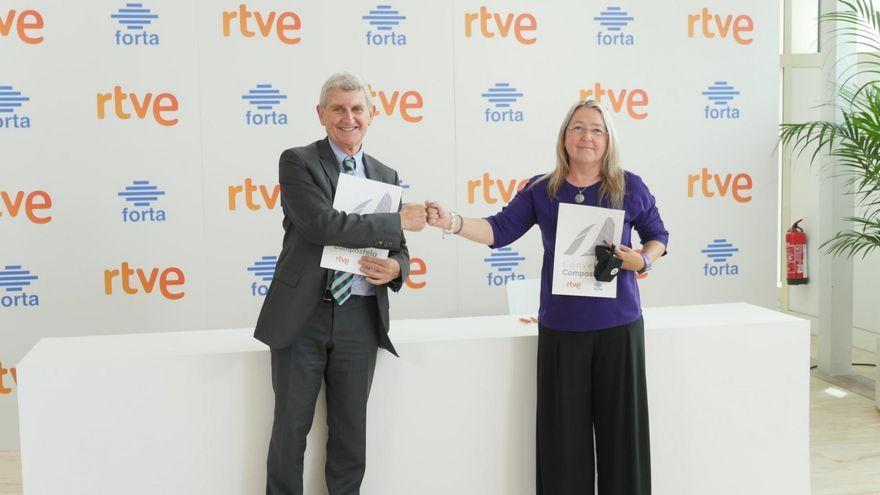 El protocol ha sigut signat per Jose Manuel Pérez Tornero, president d'RTVE, i Mar Iglesias, presidenta de la Forta