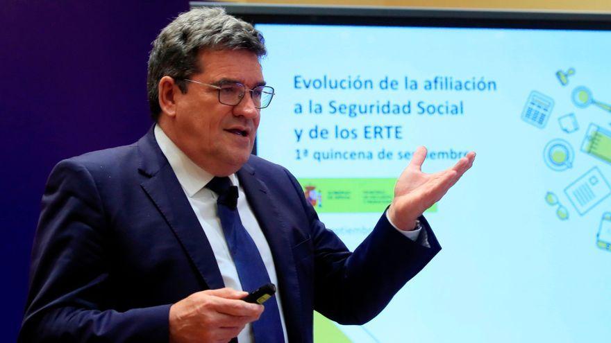 El ministre de Seguretat Social, José Luis Escrivá