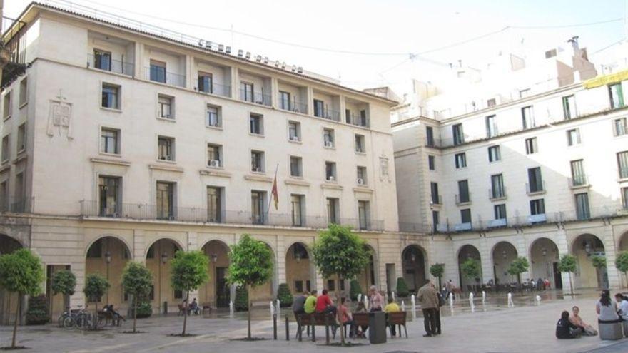 Edifici de l'Audiència d'Alacant en una imatge d'arxiu