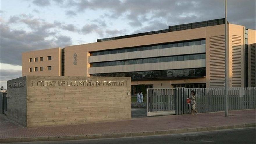 La Ciutat de la Justícia de Castelló en una imatge d'arxiu