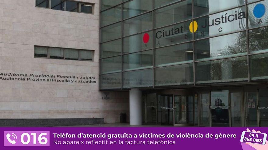 Imatge de la Ciutat de la Justícia de València, on serà el juí