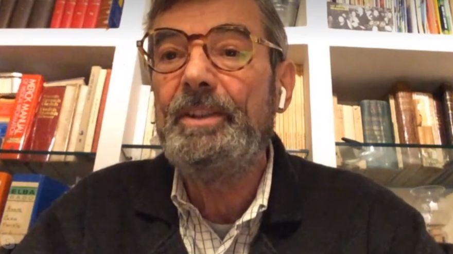 José Félix Lobo, durant l'entrevista en 'A la Ventura'