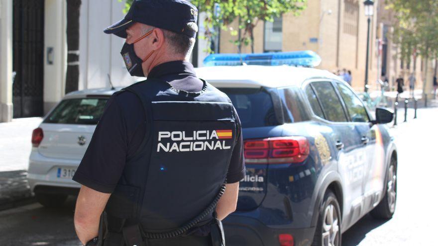 Imatge d'arxiu d'un policia nacional