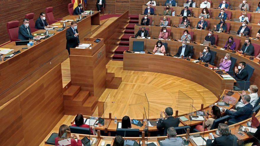 Intervenció del cap del Consell Ximo Puig aquest dilluns a les Corts