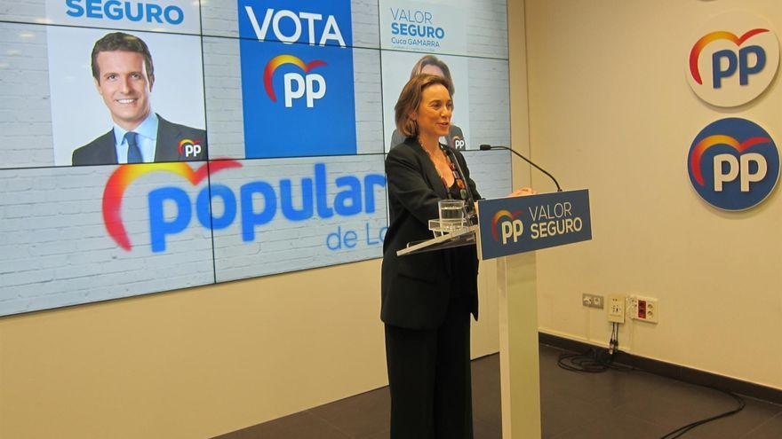 La vicesecretària de Política Social del PP i diputada per La Rioja, Cuca Gamarra