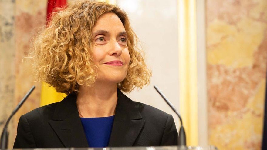 La presidenta del Congrés dels Diputats Meritxell Batet en una foto d'arxiu