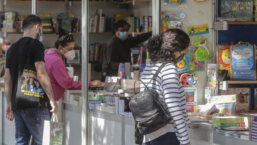 Inauguració de la 56 Fira del Llibre de València als Jardins de Vivers