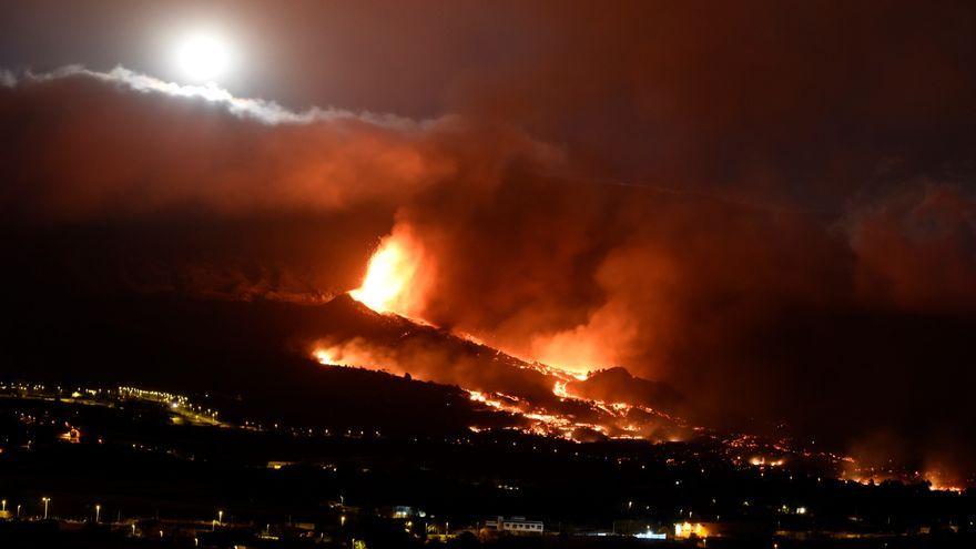 S'obri una nova boca eruptiva als voltants de Tacande
