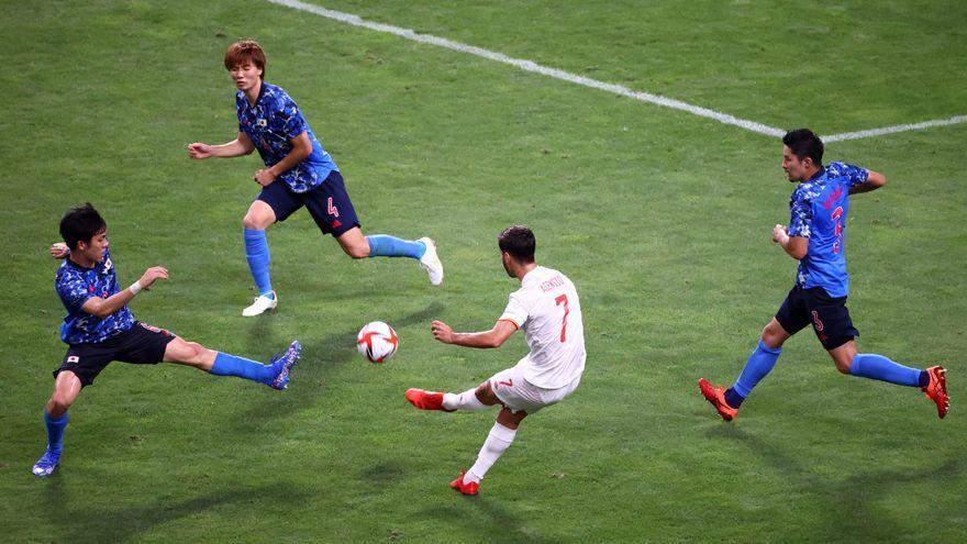 Acció del gol de Marco Asensio