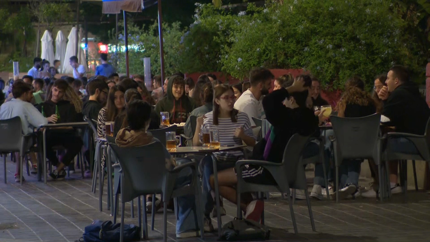 Ambient nocturn al barri de Russafa