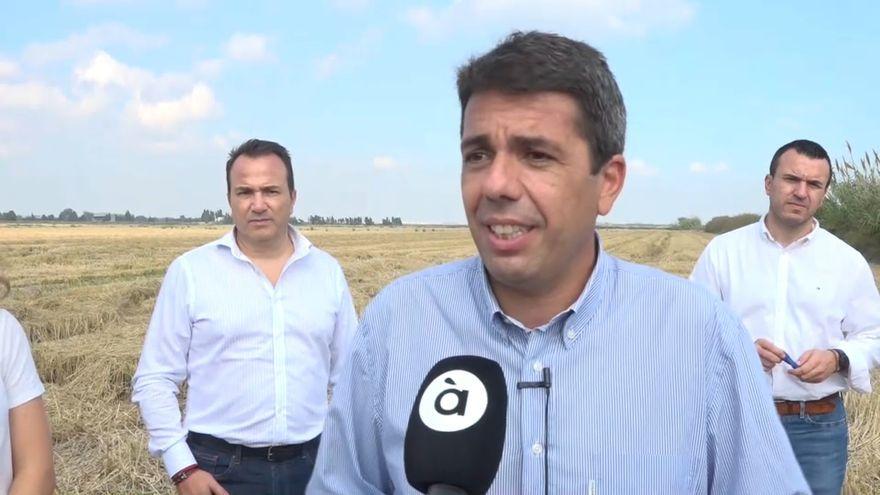 El president del PPCV i de la Diputació d'Alacant, Carlos Mazón