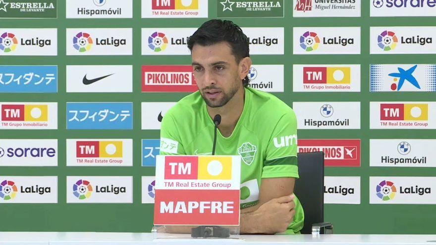 El jugador de l'Elx, Javier Pastore