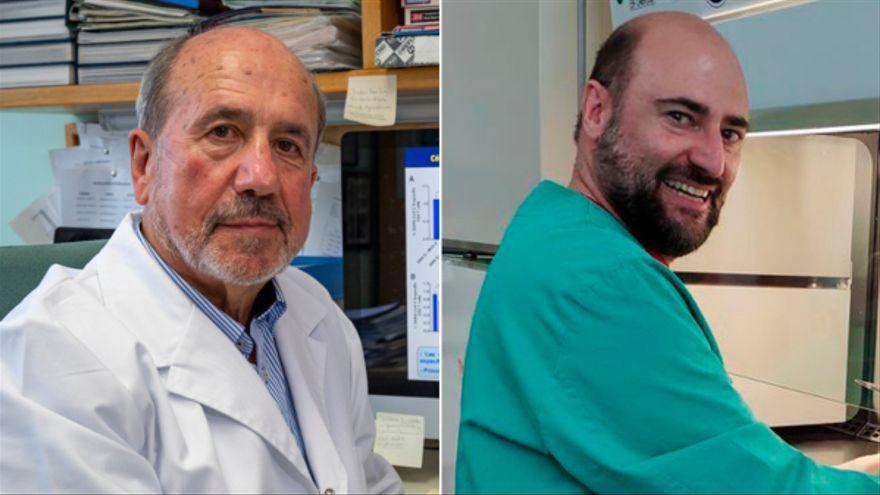 Els viròlegs Mariano Esteban i Juan García Arriaza