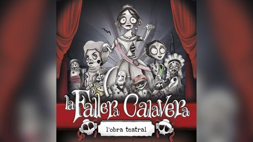 Cartell de l'obra teatral de la Fallera Calavera