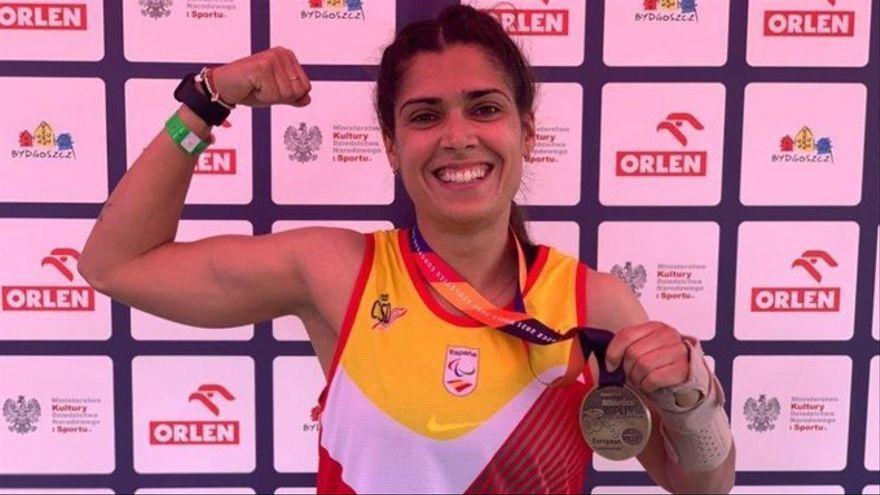 La llançadora Miriam Martínez Rico aconsegueix la medalla de plata en Tòquio 2020