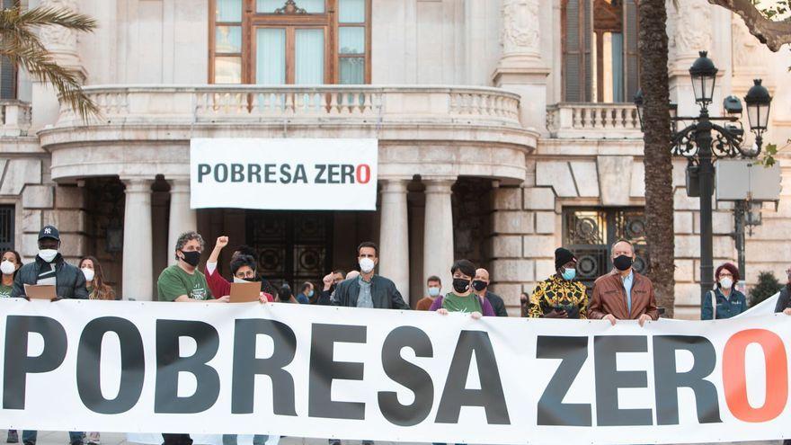Imatge de la concentració a la ciutat de València de 2020