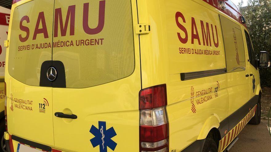 Un vehicle del SAMU, en una imatge d'arxiu