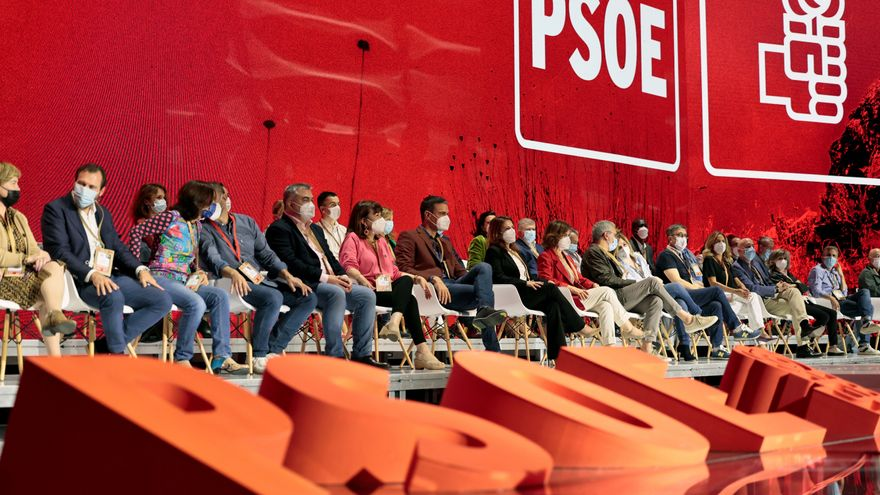 El secretari general del PSOE, Pedro Sánchez, a l'inici de la segona jornada del 40é Congrés Federal del partit