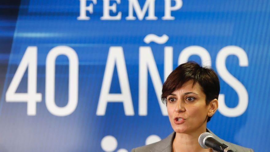 La ministra de Política Territorial i portaveu del govern, Isabel Rodríguez, aquest dijous