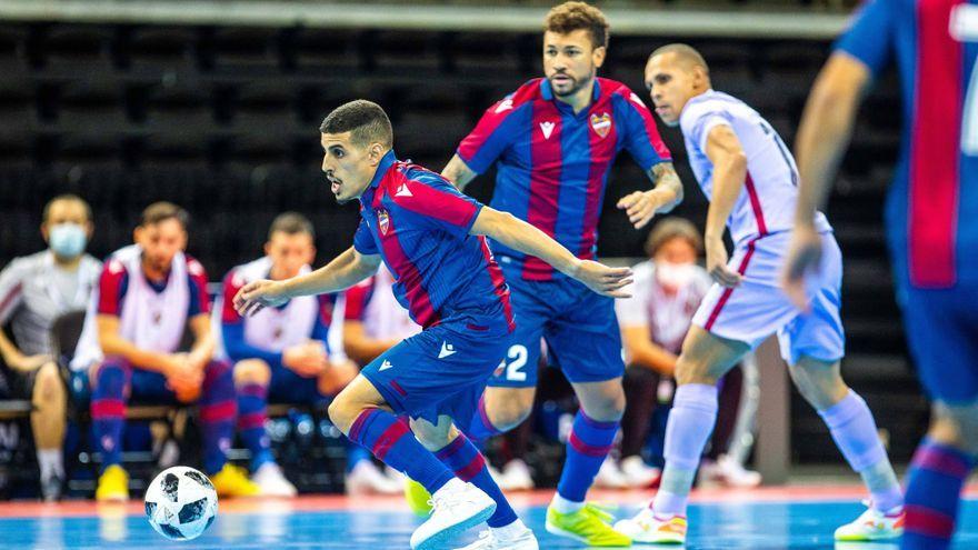 El Llevant FS cau golejat contra el FC Barcelona