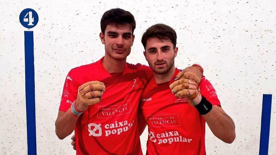 Vercher i Raúl, després de la partida