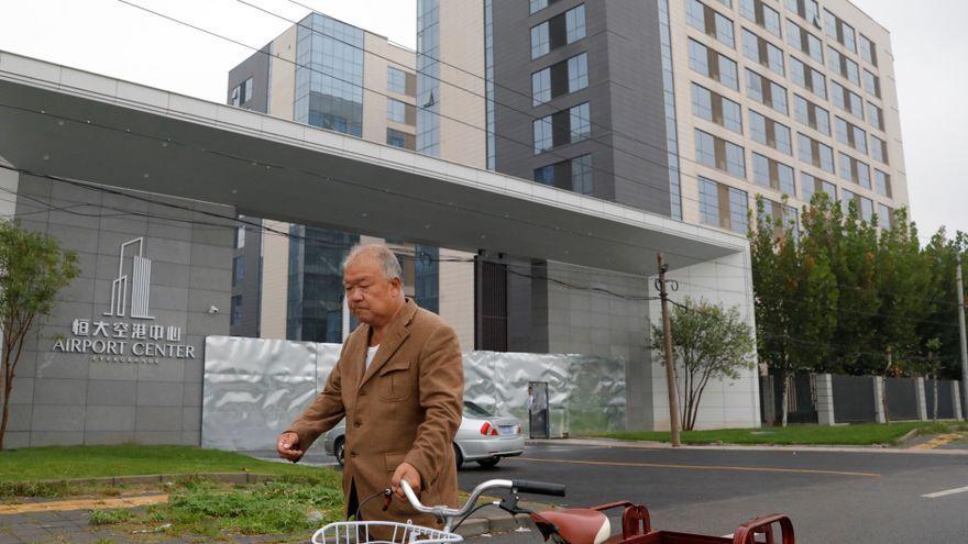 Un dels edificis a la Xina de l'Evergrande Group