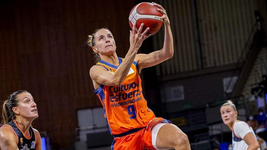 La jugadora del València Basket, Queralt Casas