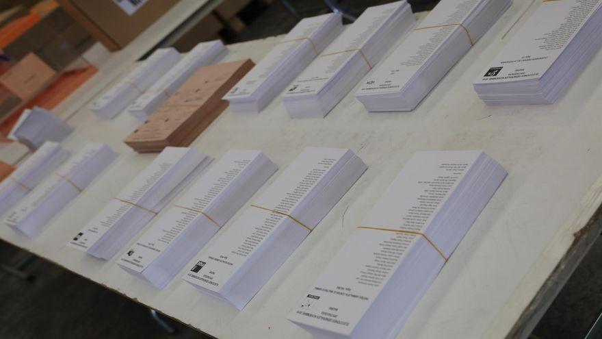 Comença el recompte de vot emés des de l'estranger