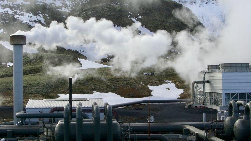 Planta de producció d'hidrògen a Islàndia
