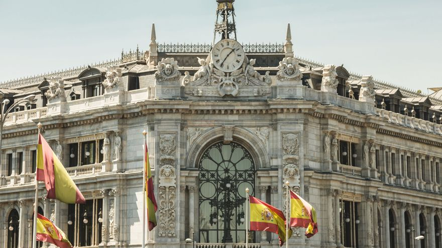Banc d'Espanya a Madrid en una imatge d'arxiu