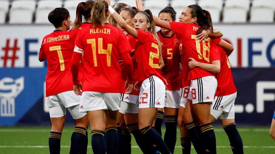 Amaiur Sarriegi ha signat quatre dels gols d'Espanya