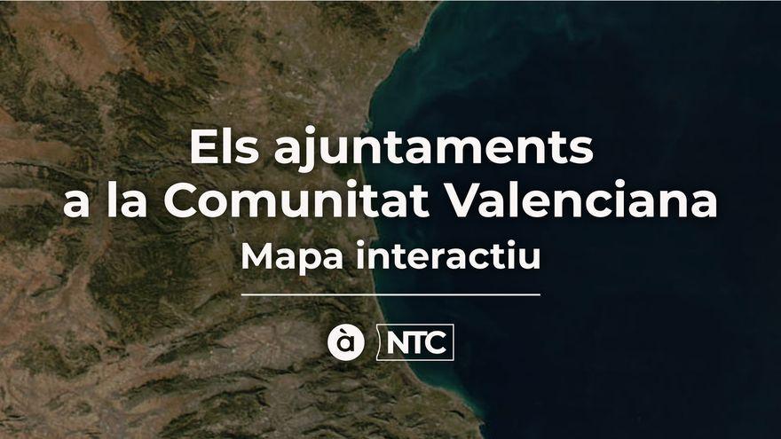 MAPA INTERACTIU | Els ajuntaments a la Comunitat Valenciana després del 26M