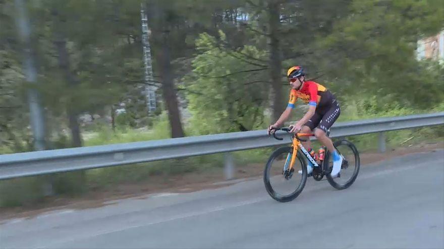 El ciclista Rafa Valls