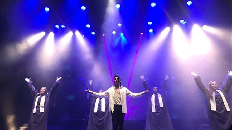 Espectacle d'homenatge a Michael Jackson al Teatre Olympia de València