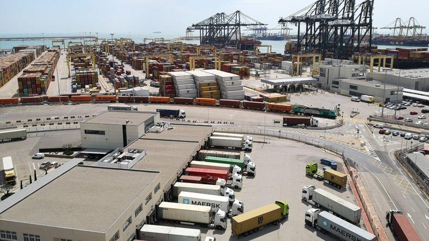 Les instal·lacions del port de València, en una imatge d'arxiu