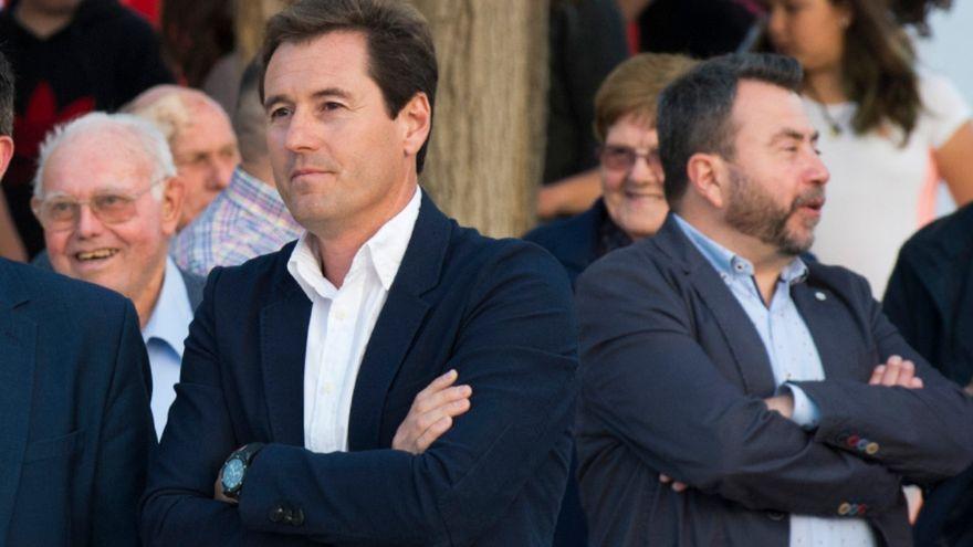 El candidat del PSPV i alcalde des de 2007 a la Granja de la Costera, Carlos Garrido
