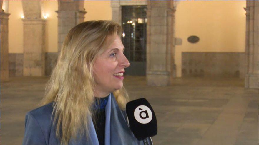 L'alcaldessa de Castelló, Amparo Marco, en declaracions a À Punt NTC